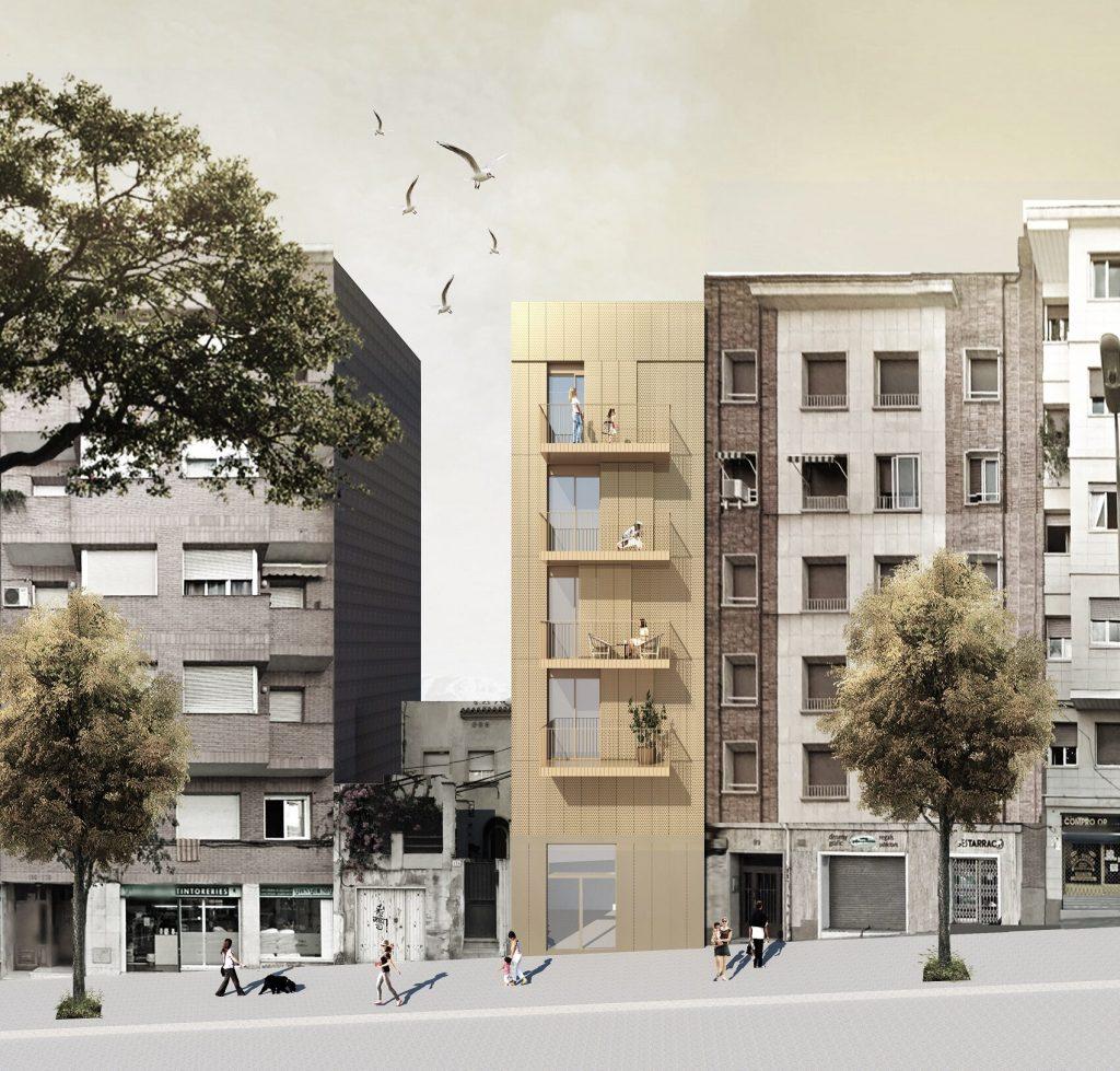 MDM174 Promoción de Obra Nueva en el Barrio del Guinardó, Bacelona