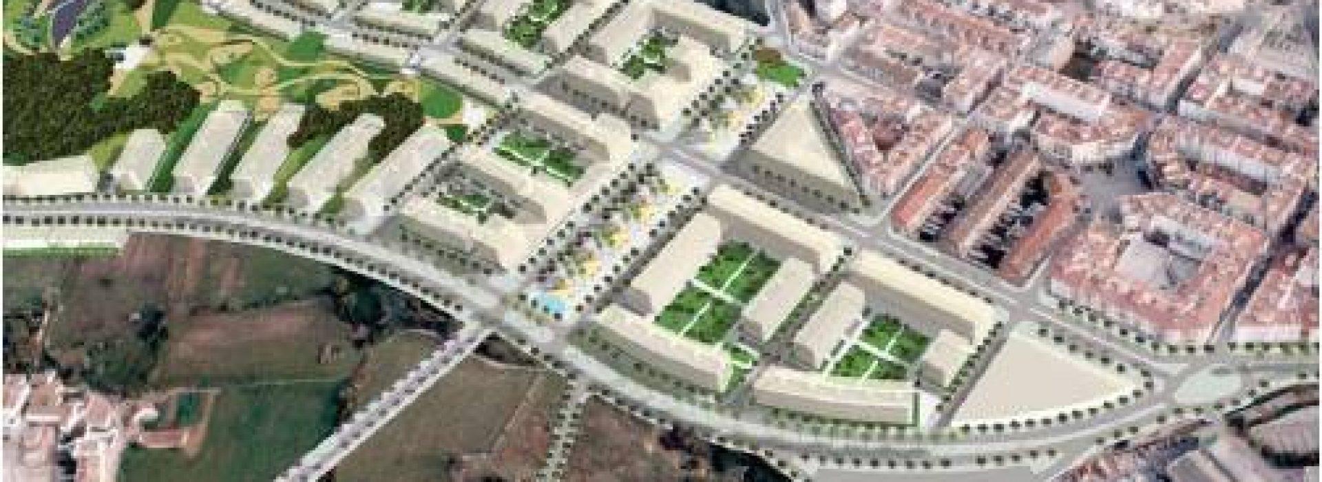 Mercat Parc Central proyecto de arquitectura y urbanismo y gestión integral en Sant pere de Ribes, Barcelona. TR Grupo Inmobiliario