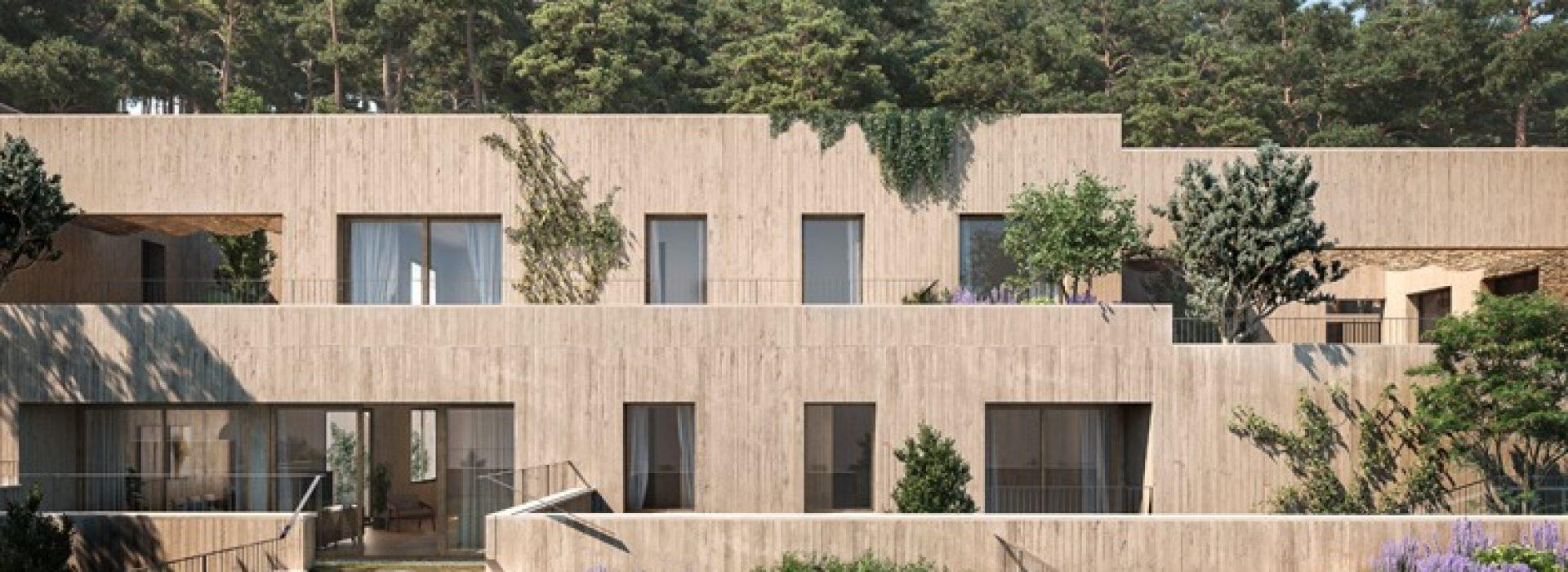 Exteriores Jardins de Sa Riera, promoción inmobiliaria de obra nueva que comercializa TR Grupo Inmobiliario
