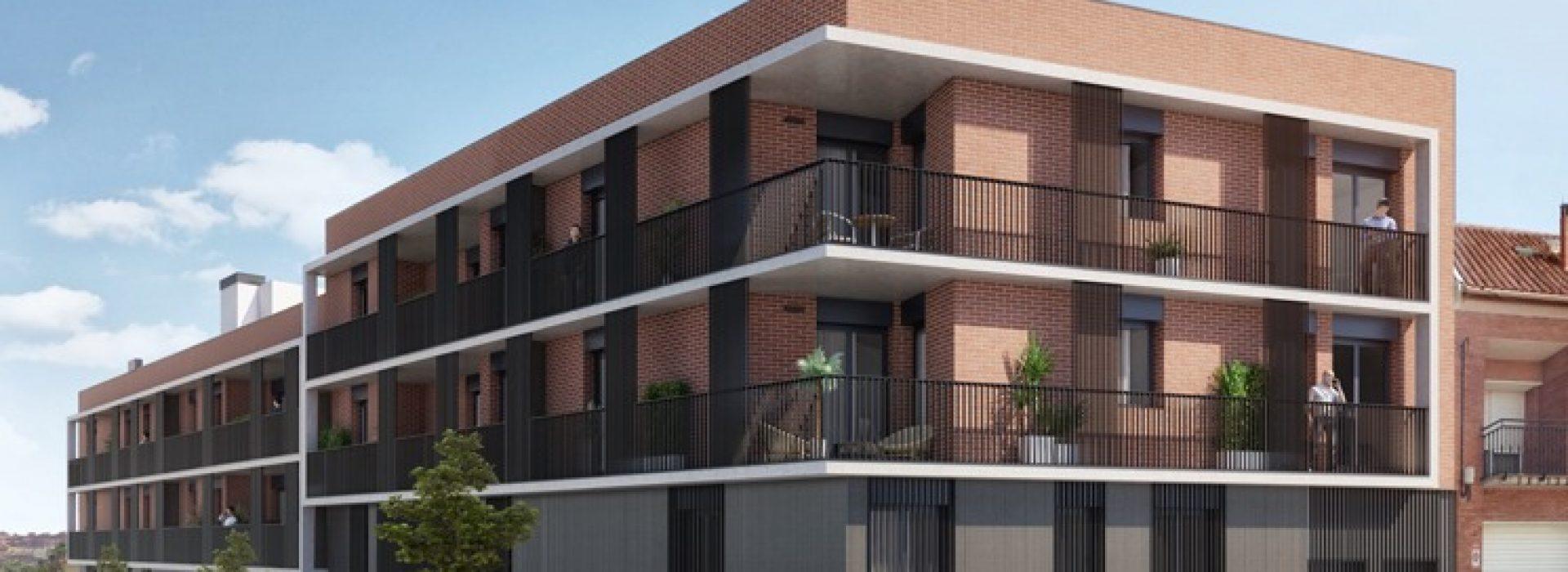 Dormitorio Residencial El Mirador de Mollet. Promoción inmobiliaria de obra nueva de TR Grupo Inmobiliario.
