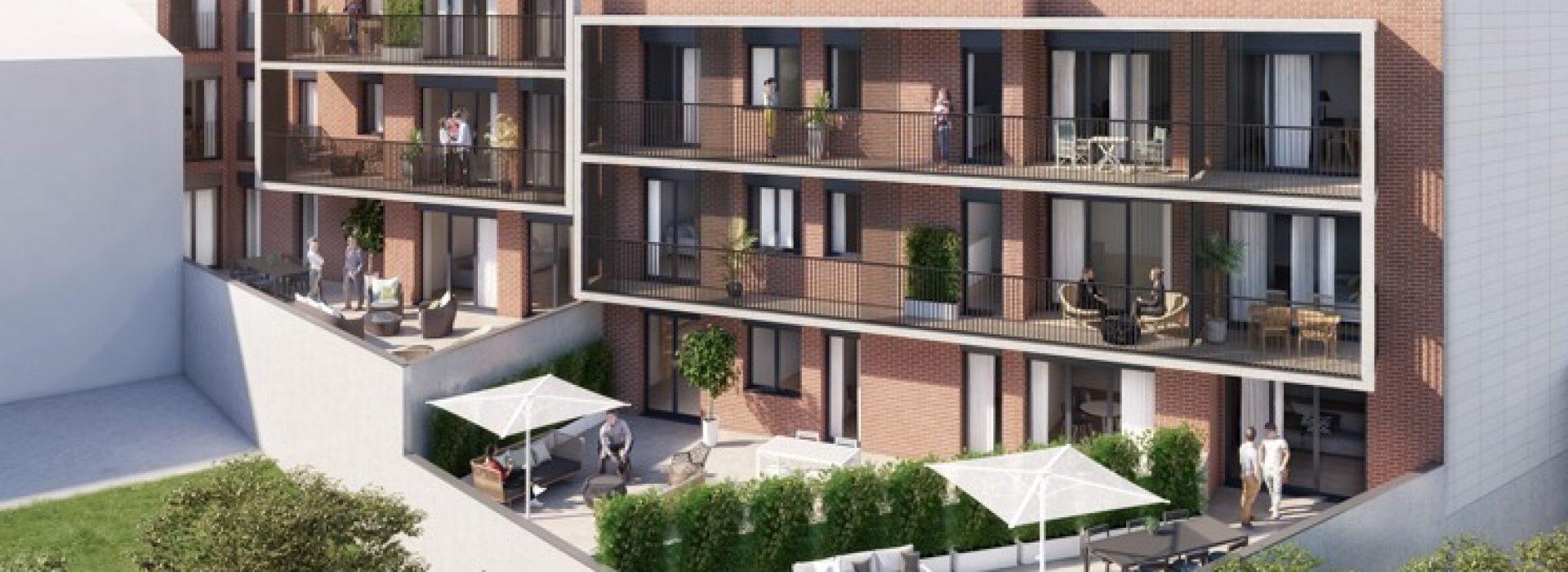 Exterior de Residencial El Mirador de Mollet. Promoción inmobiliaria de obra Nueva de TR Grupo Inmobiliario.